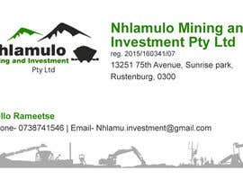 #1 for Design a letterhead and business cards for a mining company af rushikvartak