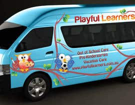 #1 for Design a vinyl wrap for a bus af kellibeukes