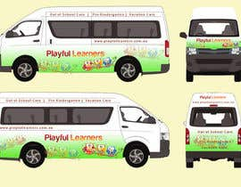 #28 for Design a vinyl wrap for a bus af arman0464