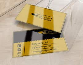 #10 for Design some Business Cards for Makeup, Brow & Lash Specialist af adnanadbi
