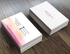 #4 for Design some Business Cards for Makeup, Brow & Lash Specialist af assamite