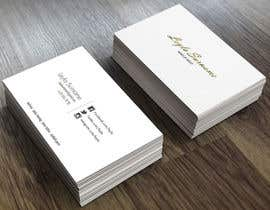#7 for Design some Business Cards for Makeup, Brow & Lash Specialist af assamite