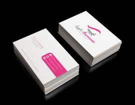 #9 for Design some Business Cards for Makeup, Brow & Lash Specialist af hansa02