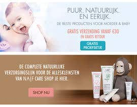 #22 for Design 2 Banners for a baby/mother care products site af assamite