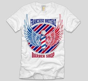 #6 untuk Design a T-Shirt for barbershop oleh ezaz09