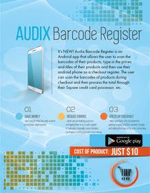 #1 cho Design an Advertisement for Audix Barcode Register bởi yaris196