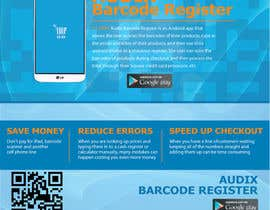 #12 cho Design an Advertisement for Audix Barcode Register bởi Habib919000