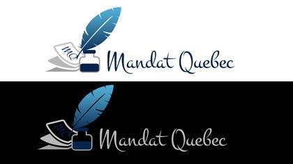 Nro 36 kilpailuun Design a Logo for  M a n d a t              Q u e b ec käyttäjältä picitimici