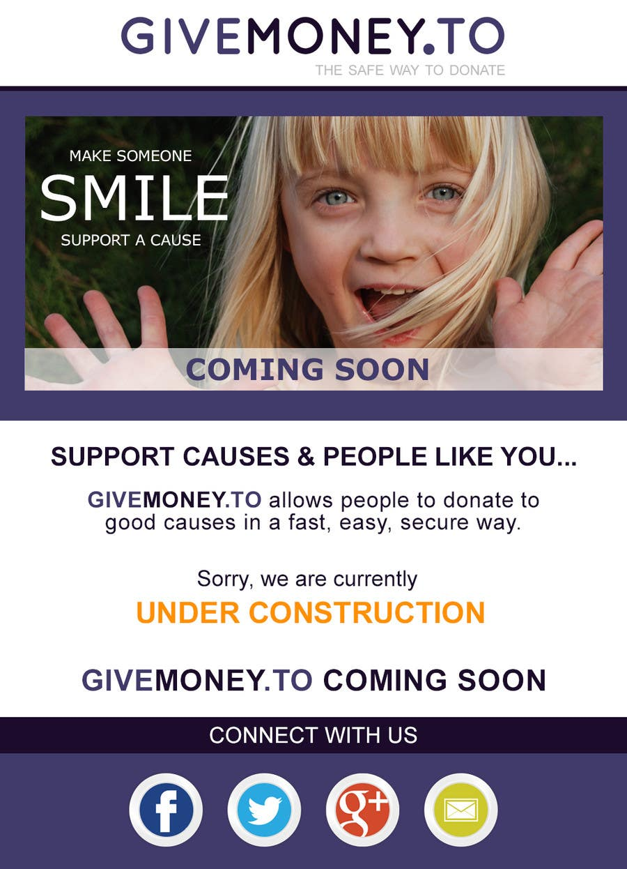 #2 for Develop a Corporate Identity for Givemoney.to by Chrissikosk
