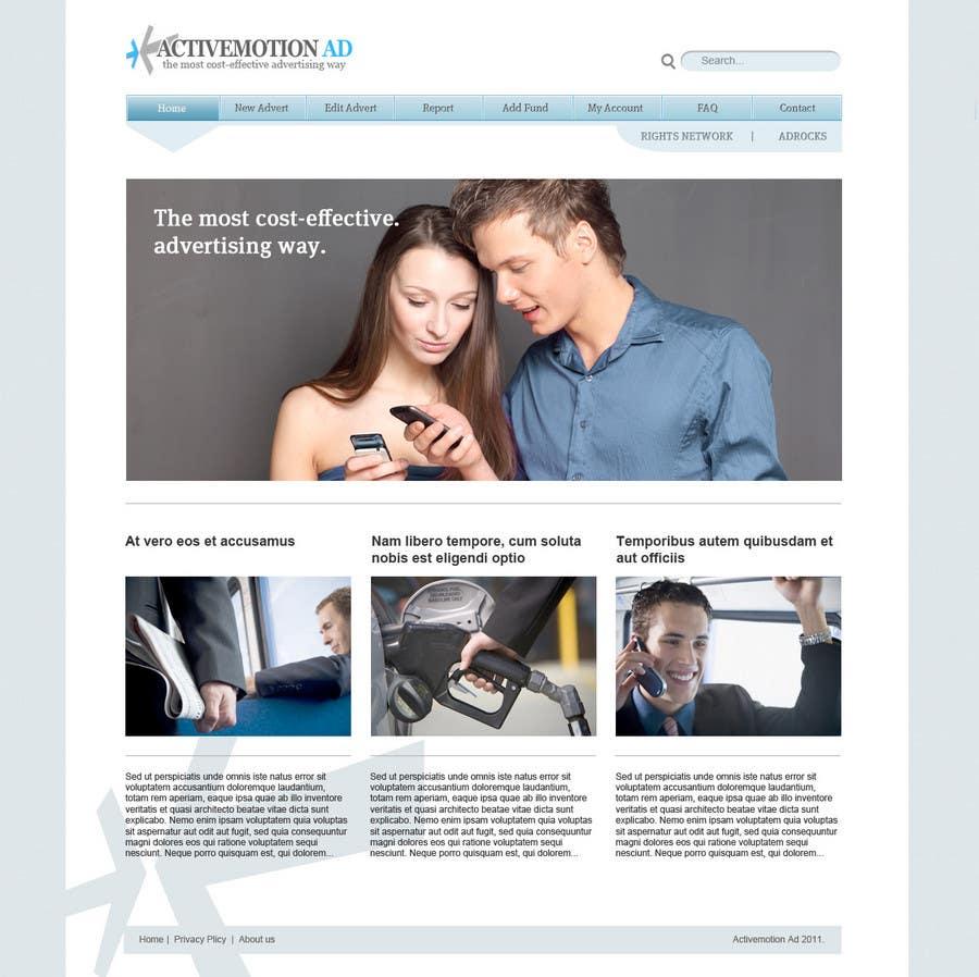Konkurrenceindlæg #                                        25                                      for                                         Website Design for Active Motion Ad
