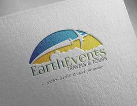 #77 untuk Design a Logo for EARTH EVENTS Travels & Tours oleh samehsos