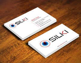 #288 untuk Design some Business Cards for Silki oleh gohardecent