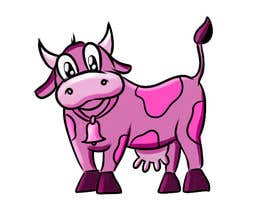 #4 cho Illustrate a Pink Cow As a Cartoon for a Brand Mascot bởi jesoz