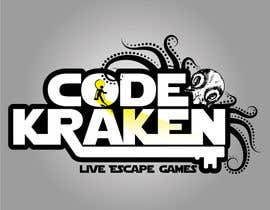 "#118 untuk Design a Logo for an ""Escape Game"" brand. oleh Zsuska"