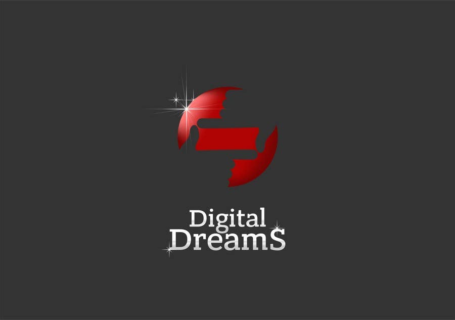 Kilpailutyö #58 kilpailussa Design a Logo for Digital Dreams