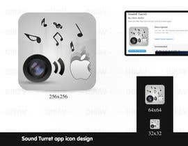"#24 untuk Design an Icon for the ""Sound Turret"" Mac app oleh dirav"