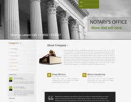 #43 untuk Design a Website home page for new firm of Accountants in the UK oleh lassoarts