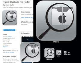 "#10 para Design Icon for ""Twinz: Duplicate File Finder"" Mac app por umamaheswararao3"
