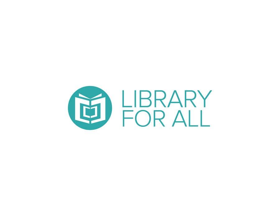 Penyertaan Peraduan #313 untuk Design a Logo for the Library For All application!