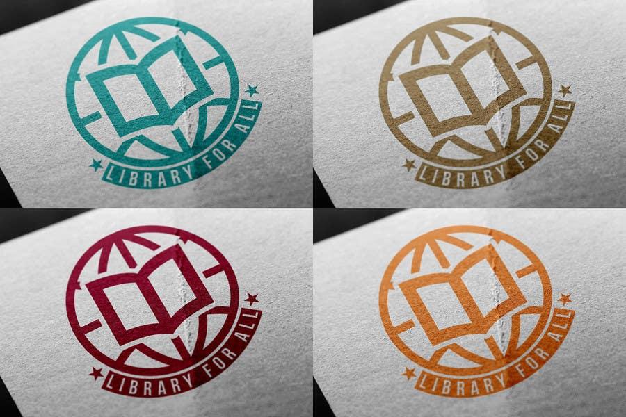 Penyertaan Peraduan #342 untuk Design a Logo for the Library For All application!