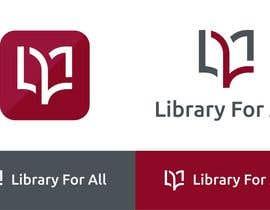 #315 for Design a Logo for the Library For All application! af redclicks