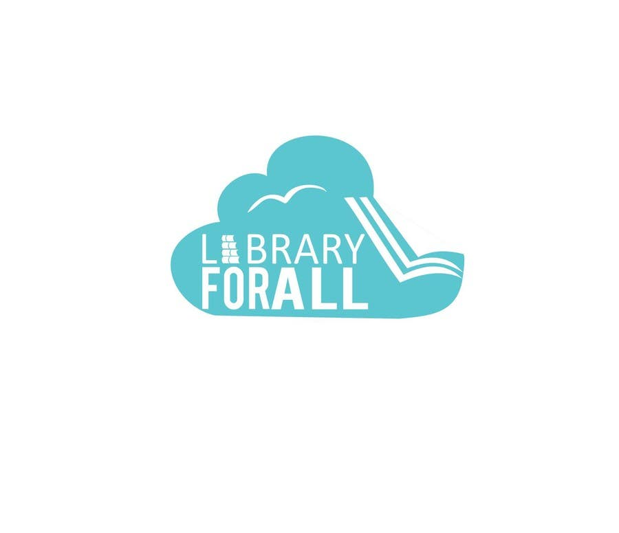 Penyertaan Peraduan #302 untuk Design a Logo for the Library For All application!