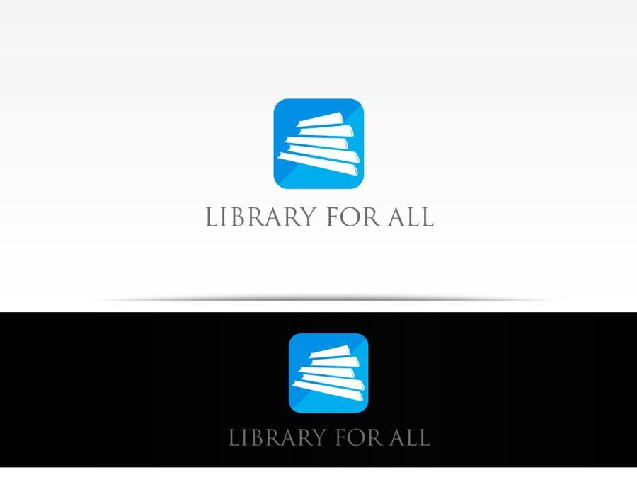 Penyertaan Peraduan #354 untuk Design a Logo for the Library For All application!