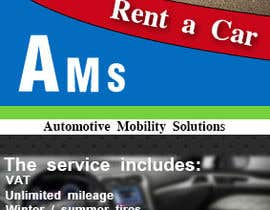 Lashqarashvili tarafından Design a Flyer for AMS RENT A CAR için no 5