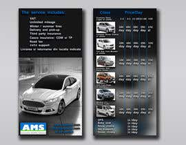 #8 untuk Design a Flyer for AMS RENT A CAR oleh Lashqarashvili