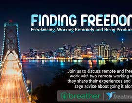 doringraf tarafından Design a Banner for a Freelancer/Breather Event in San Francisco için no 42