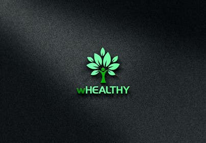 #55 for Design a logo for wHealthy af farooqshahjee
