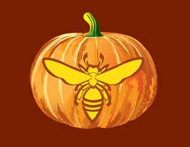 #30 for Illustrate Something for Honey Bee carved into a Pumpkin af Arturios505