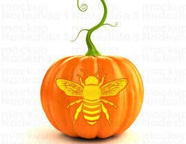 #31 for Illustrate Something for Honey Bee carved into a Pumpkin by nadito