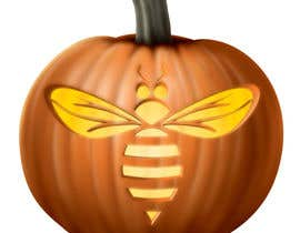 #17 for Illustrate Something for Honey Bee carved into a Pumpkin by peshan
