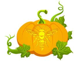 #14 for Illustrate Something for Honey Bee carved into a Pumpkin af RedPhoenix2123