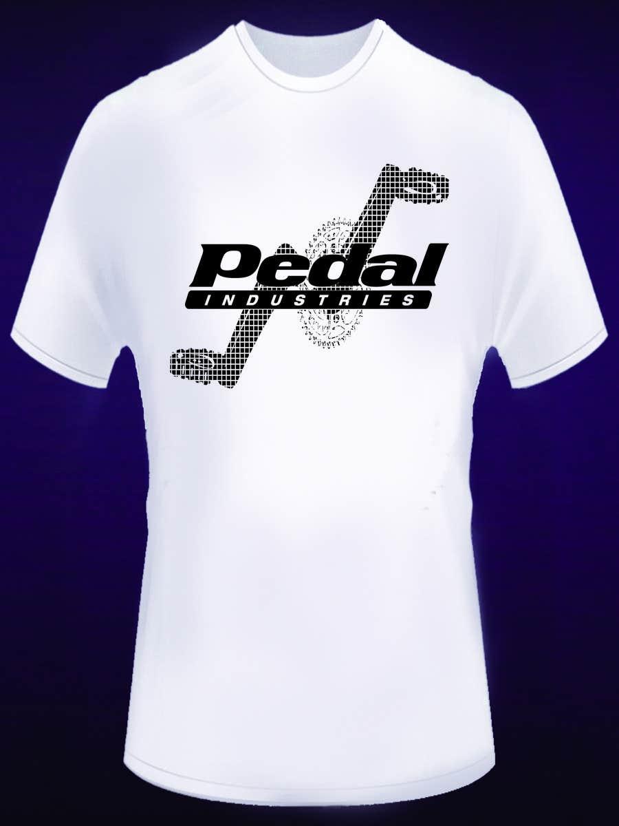 Penyertaan Peraduan #22 untuk Design a T-Shirt for Pedal Industries