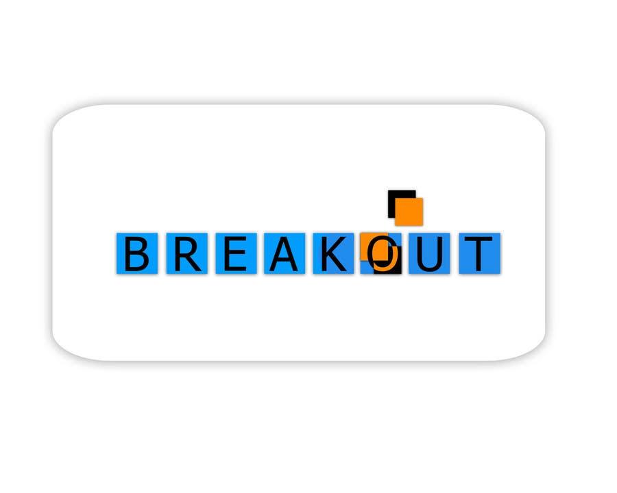 Kilpailutyö #320 kilpailussa Design a Logo for Breakout