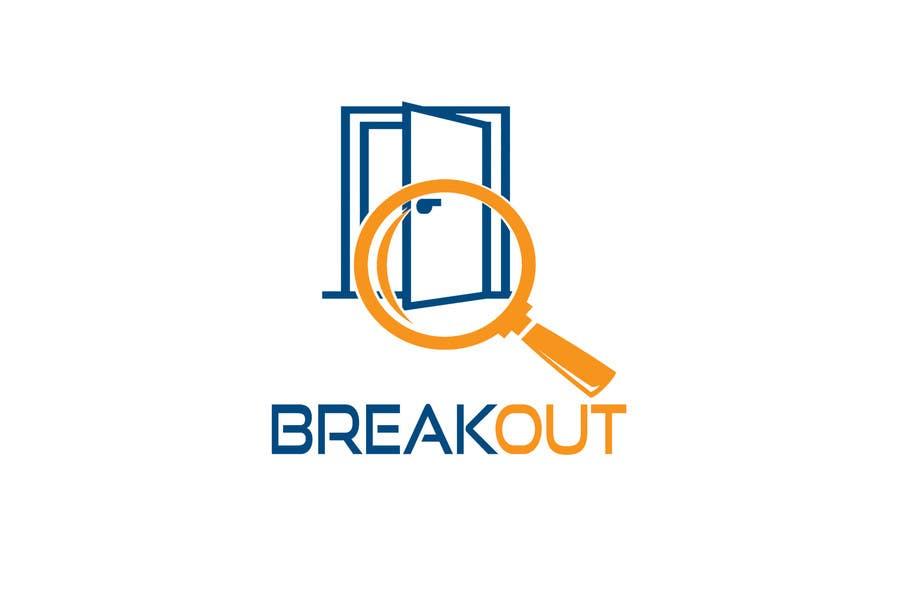 Kilpailutyö #280 kilpailussa Design a Logo for Breakout