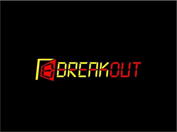 Kilpailutyö #243 kilpailussa Design a Logo for Breakout