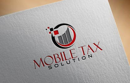 #25 for Design a Logo for Mobile Tax Solution af olja85