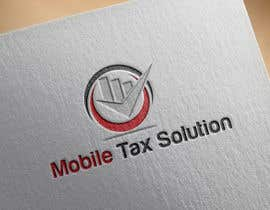 #3 for Design a Logo for Mobile Tax Solution af georgeecstazy