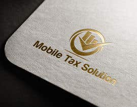 #4 for Design a Logo for Mobile Tax Solution af georgeecstazy