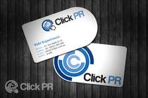 Graphic Design Contest Entry #28 for Business Card Design for Click PR