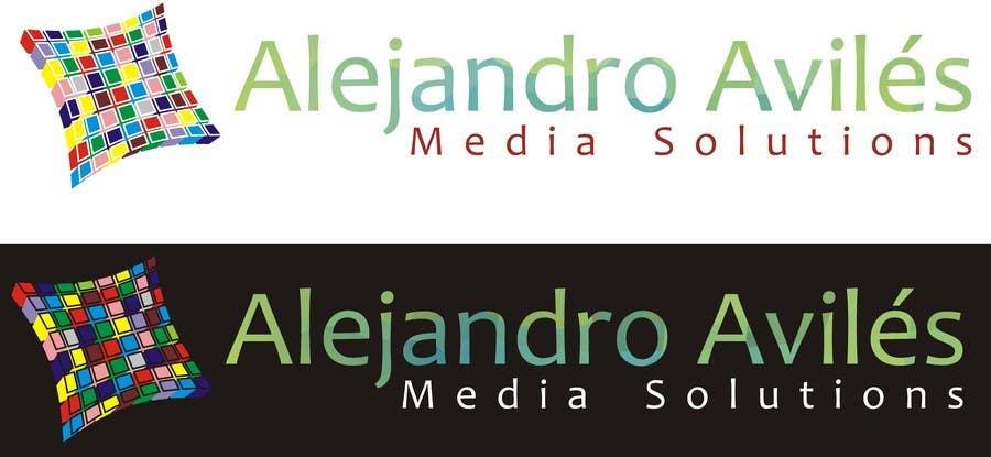 Bài tham dự cuộc thi #                                        55                                      cho                                         Design a Logo for Alejandro Avilés Media Solution