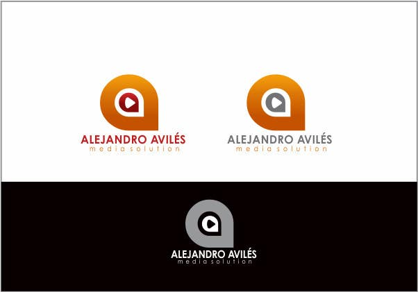 Bài tham dự cuộc thi #                                        57                                      cho                                         Design a Logo for Alejandro Avilés Media Solution