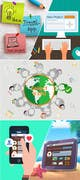 Illustration-kilpailutyö nro 5 kilpailussa three part infographic