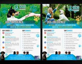 Nro 22 kilpailuun Dog Obedience Flyer Design käyttäjältä mirandalengo