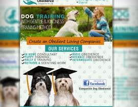 Nro 14 kilpailuun Dog Obedience Flyer Design käyttäjältä adidoank123