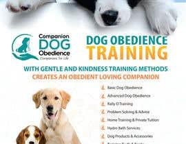 Nro 24 kilpailuun Dog Obedience Flyer Design käyttäjältä cristinaDPI