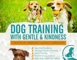 Nro 10 kilpailuun Dog Obedience Flyer Design käyttäjältä silvi86
